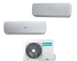 HISENSE dual split inverter serie MINI APPLE PIE