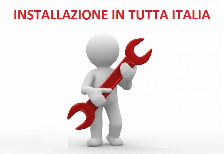 installazione in tutta italia