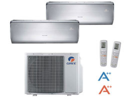 GREE dual split inverter serie U-CROWN